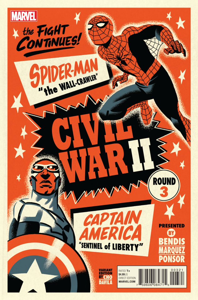Civil War II #3 (Michael Cho Cover)