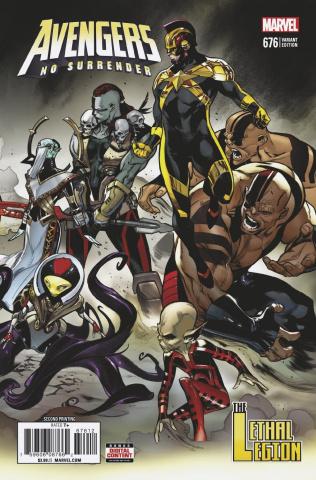Avengers #676 (2nd Printing)