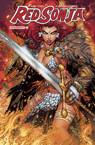Red Sonja #10 (Meyers Cover)