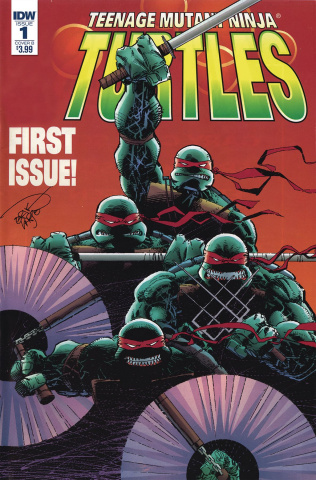 Teenage Mutant Ninja Turtles: Urban Legends #1 (Larsen Cover)