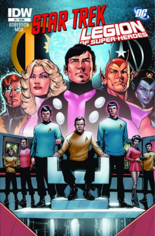 Star Trek / The Legion of Super Heroes #1