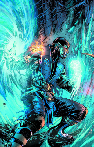 Mortal Kombat X #1 (Sub Zero Cover)