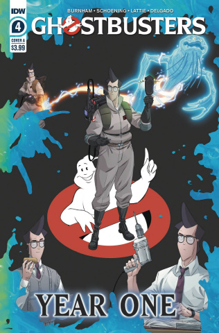 Ghostbusters: Year One #4 (Shoening Cover)