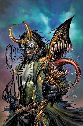Avengers #11 (Kirkham Venomized Loki Cover)