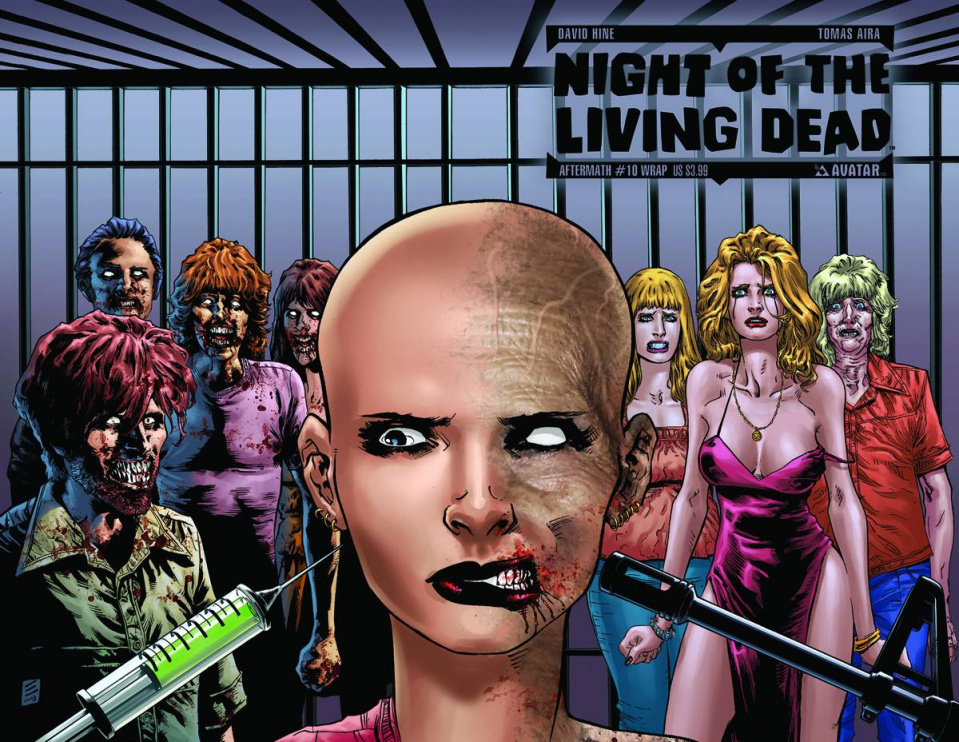 Night of the Living Dead: Aftermath #10 (Wrap Cover)