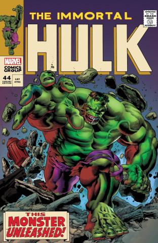 The Immortal Hulk #44 (Bennett Homage Cover)