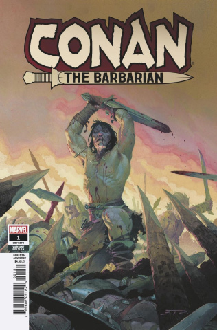 Conan the Barbarian #1 (Ribic Teaser Cover)