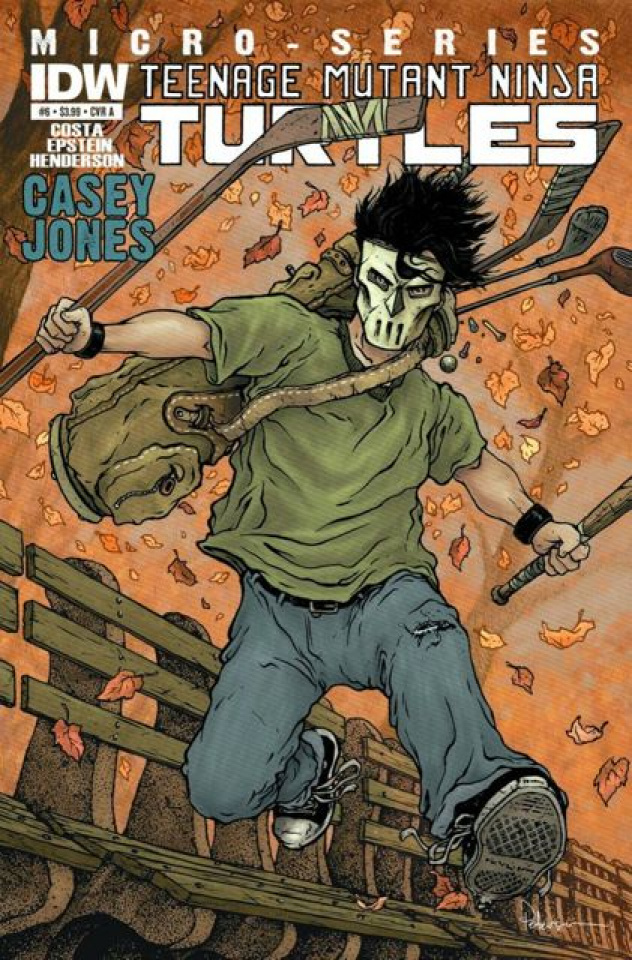Teenage Mutant Ninja Turtles Micro-Series #6: Casey Jones