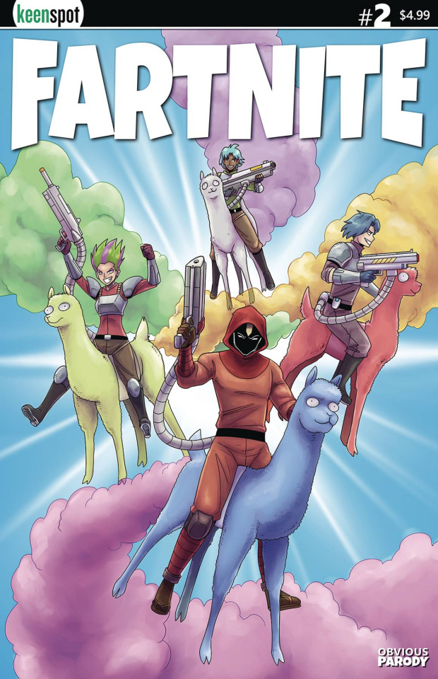 Fartnite: Chapter Poo #1 (Llama Riders In Sky Cover)