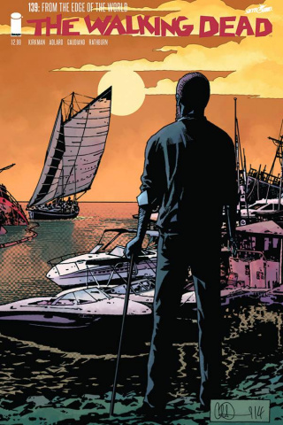 The Walking Dead #139 (Gaudiano Signed)