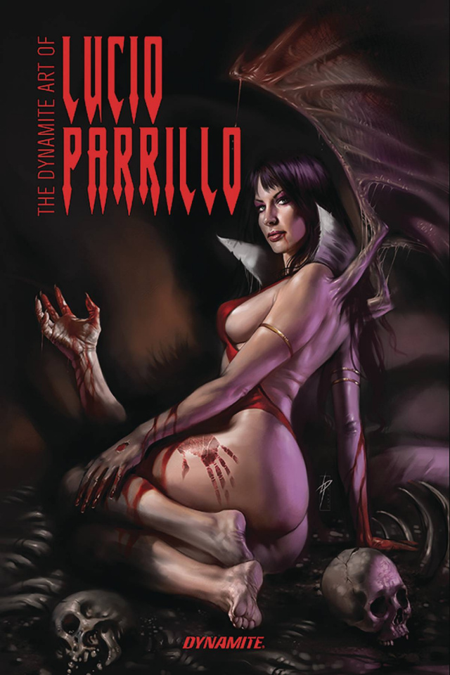 The Dynamite Art of Lucio Parrillo (Signed Edition)