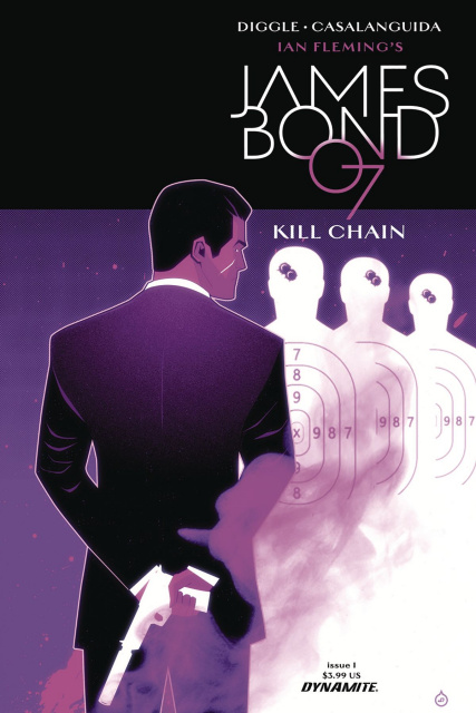 James Bond: Kill Chain #1 (Doe Cover)