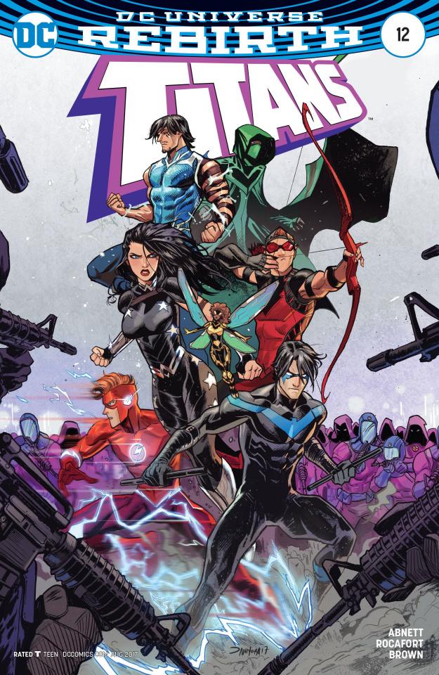 Titans #12 (Variant Cover)