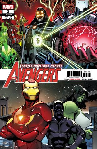 Avengers #3 (Medina 3rd Printing)
