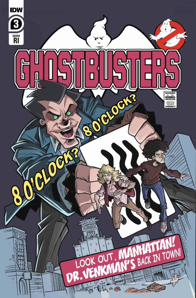 Ghostbusters: Year One #3 (10 Copy Lattie Cover)