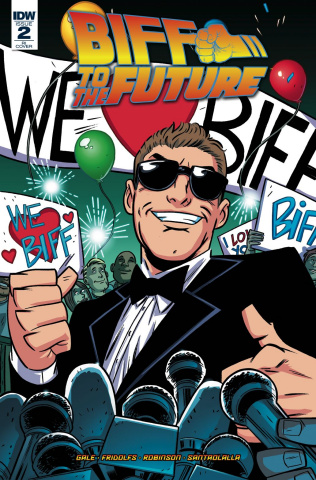 Back to the Future: Biff to the Future #2 (10 Copy Cover)