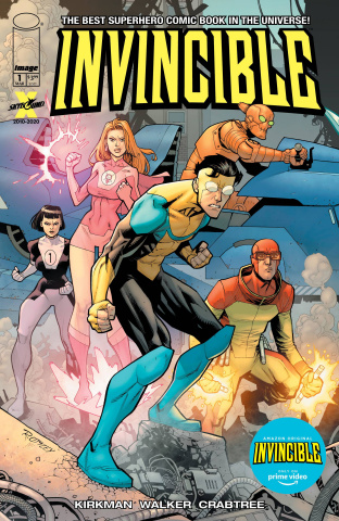 Invincible #1 (Amazon Prime Video Edition)