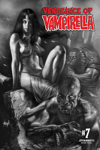 Vengeance of Vampirella #7 (21 Copy Parrillo B&W Cover)