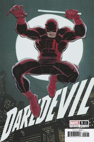 Daredevil #5 (JRJR Hidden Gem Cover)