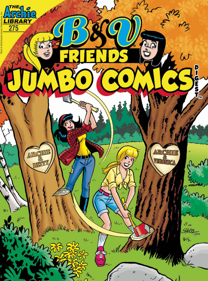B & V Friends Jumbo Comics Digest #275