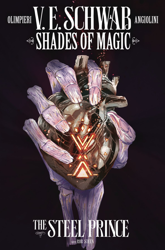 Shades of Magic #4 (Steel Prince Olimpieri Cover)