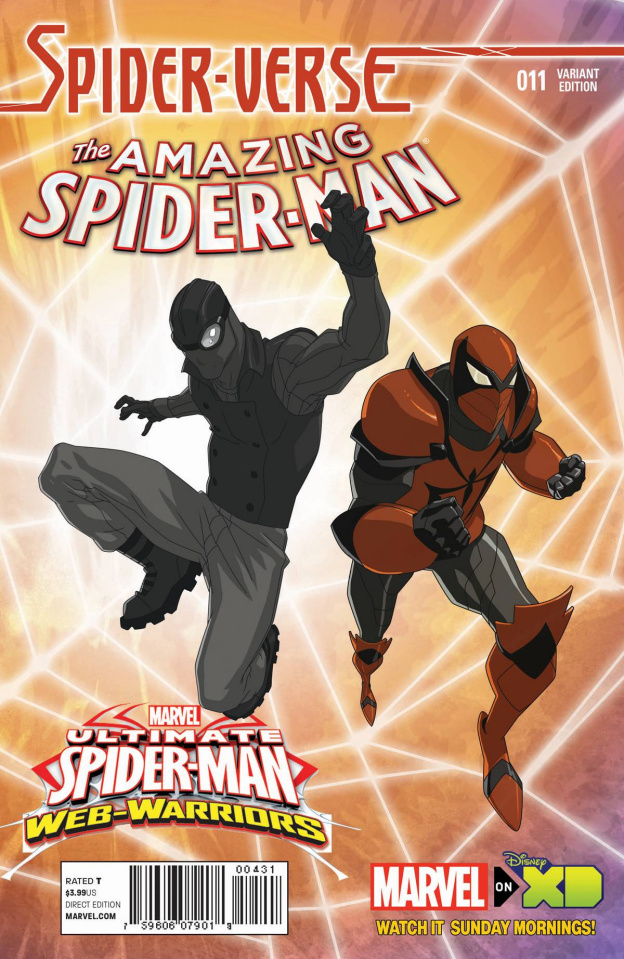 The Amazing Spider-Man #11 (Wamester Spider-Verse Cover)