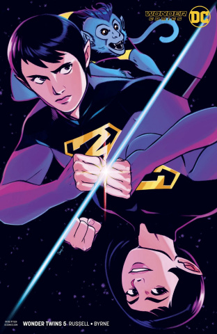 Wonder Twins #5 (Variant Cover)