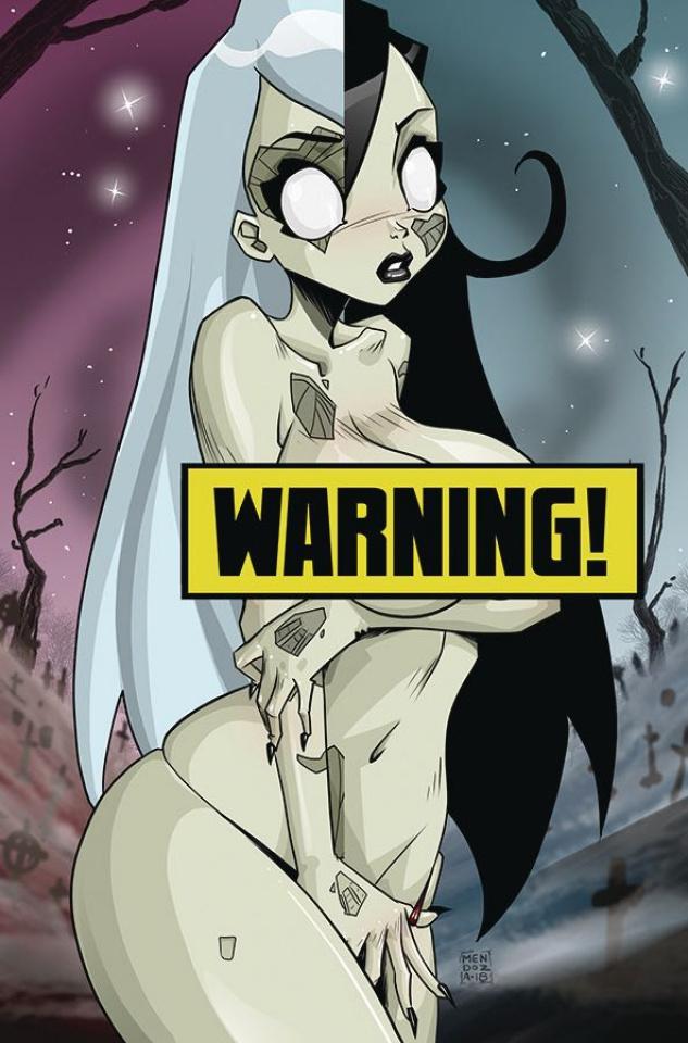 Zombie Tramp #57 (Mendoza Lenticular Virgin Cover)