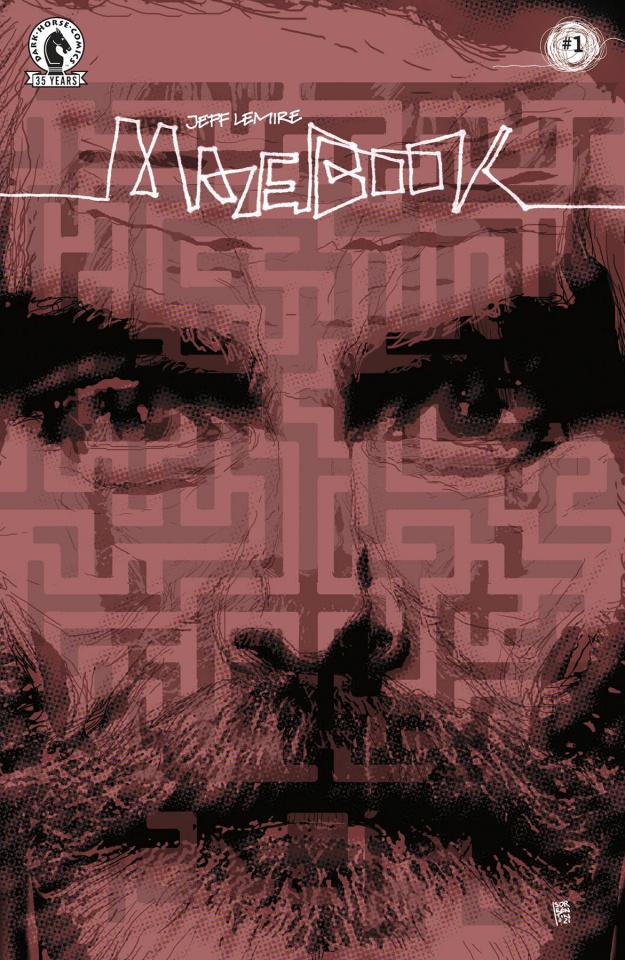 Mazebook #1 (Sorrentino Cover)