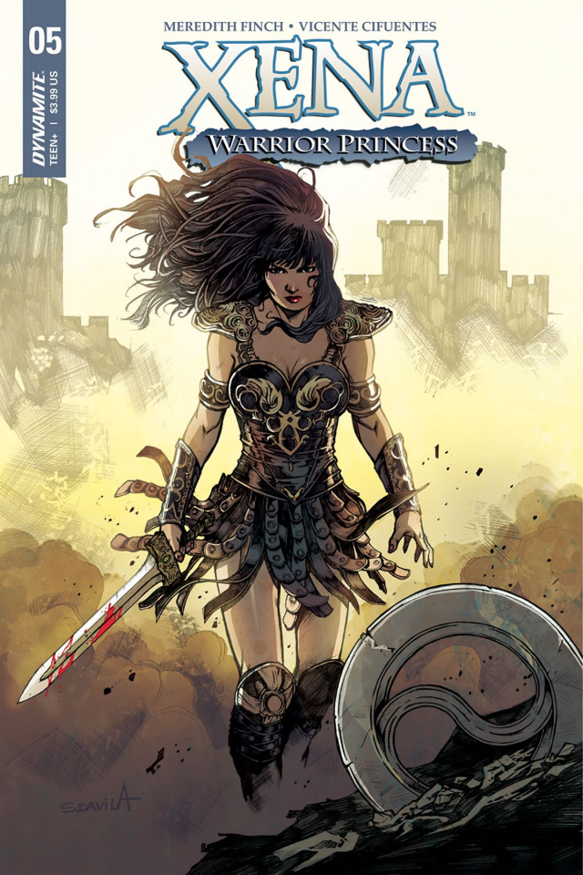 Xena #5 (Davila Cover)