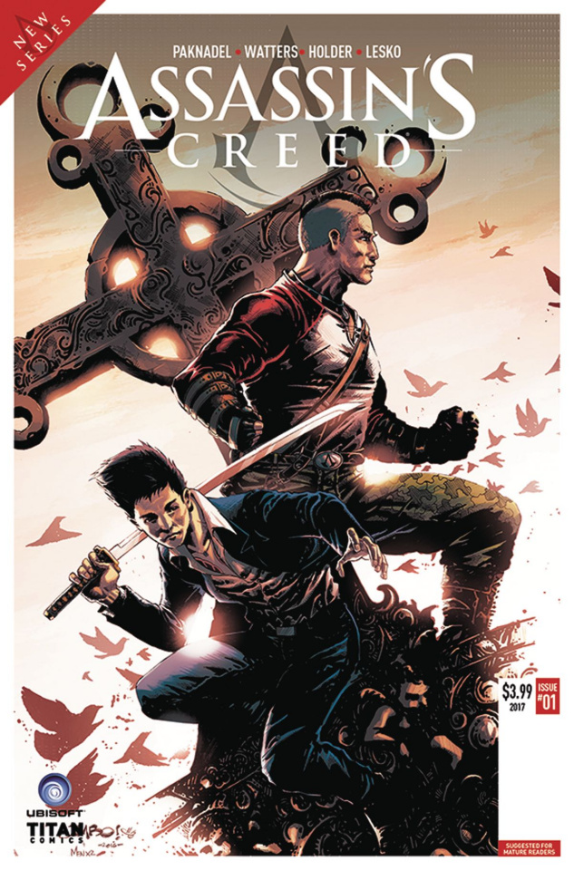 Assassin's Creed: Uprising #1 (Salgado Cover)