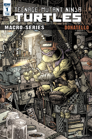Teenage Mutant Ninja Turtles Macro-Series #1: Donatello (Petersen Cover)