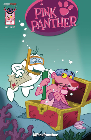 The Pink Panther #1 (Classic Pink Cover)