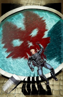 Death Force #1 (Atkins Cover)