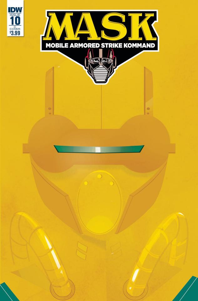M.A.S.K.: Mobile Armored Strike Kommand #10 (Baldari Cover)