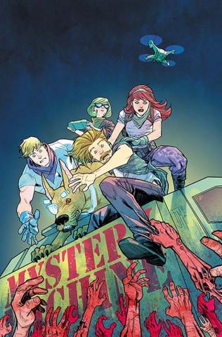 Scooby: Apocalypse #5 (Variant Cover)