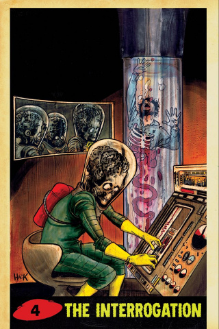 Mars Attacks #4 (25 Copy Hack Virgin Cover)