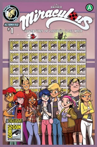 Miraculous: The Adventures of Ladybug & Cat Noir #1 (15 Copy SDCC Cover)