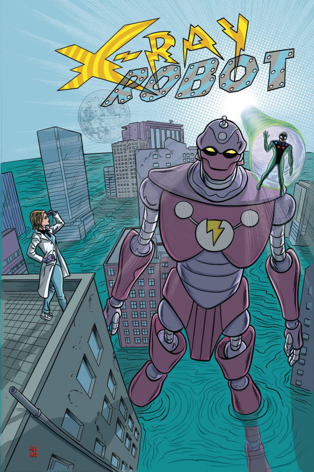 X-Ray Robot #4 (Allred Cover)