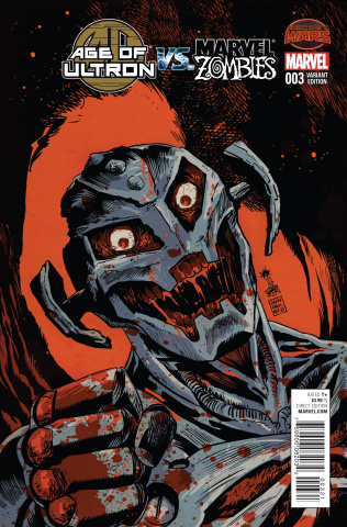 Age of Ultron vs. Marvel Zombies #3 (Francavilla Cover)