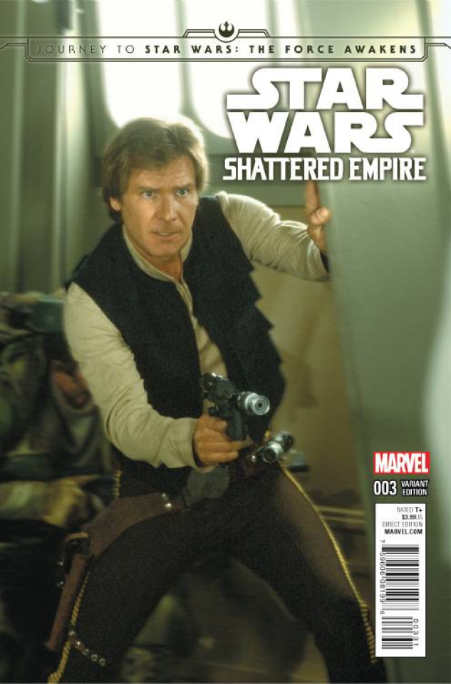 Journey to Star Wars: The Force Awakens - Shattered Empire #3 (Movie Cover)