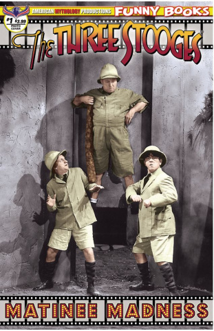 The Three Stooges: Matinee Madness #1 (Color Photo Cover)