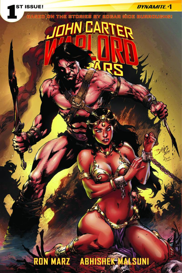 John Carter: Warlord of Mars #1 (Benes Cover)