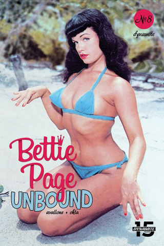 Bettie Page: Unbound #8 (Photo Cover)