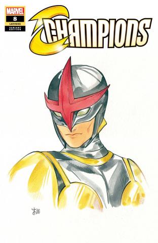 Champions #8 (Momoko Marvel Anime Cover)