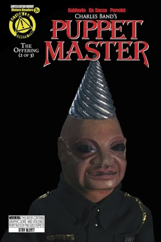 Puppet Master #2 (Tunneler Photo Cover)