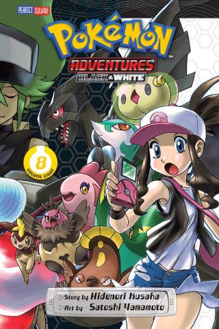 Pokémon Adventures: Black & White Vol. 8