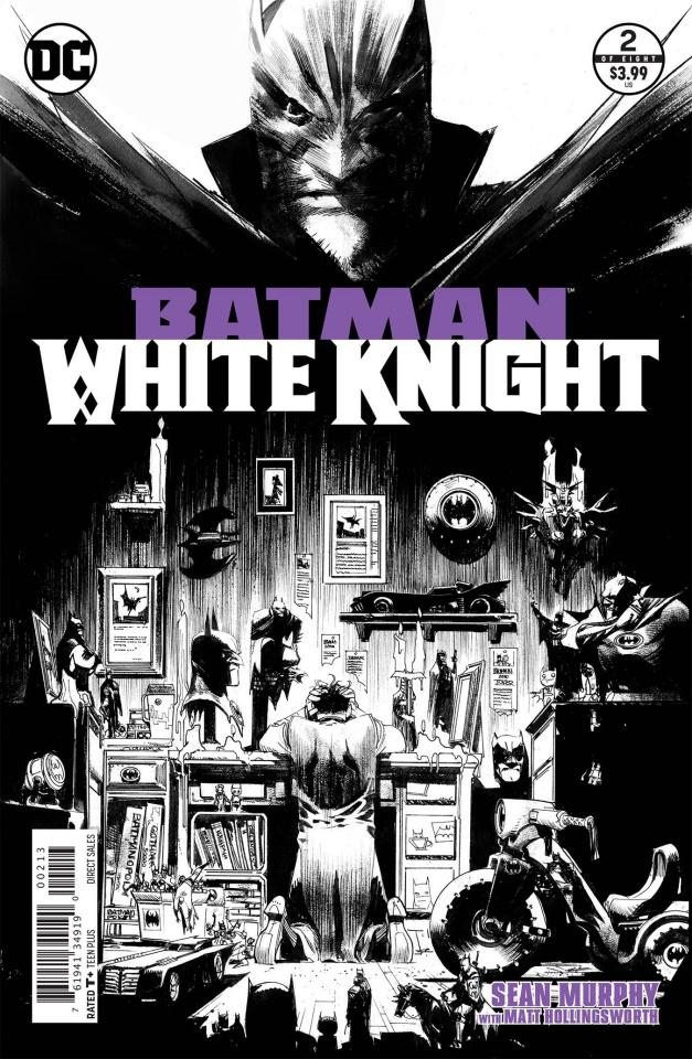 Batman: White Knight #1 (4th Printing)