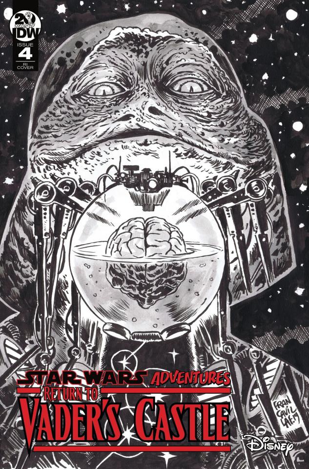 Star Wars Adventures: Return to Vader's Castle #4 (10 Copy Cover)