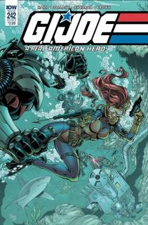 G.I. Joe: A Real American Hero #242 (Royle Cover)